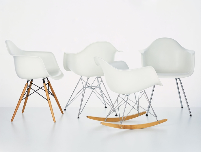 Vitra Eames Plastic Armchair Collection Charles And Ray Eames