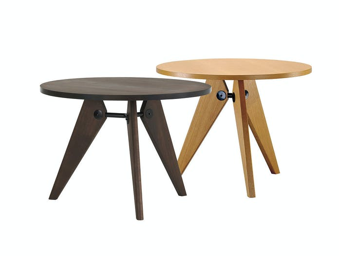 Vitra Gueridon Dining Tables Jean Prouve