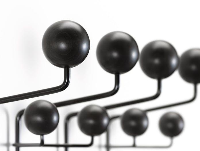 Vitra Hang It All Coat Rack Black Ash Detail Charles And Ray Eames