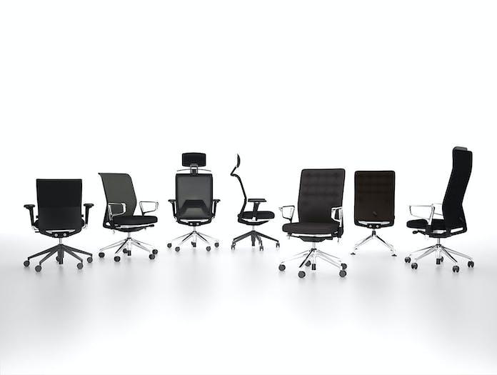 Vitra Id Office Chairs Black Antonio Citterio