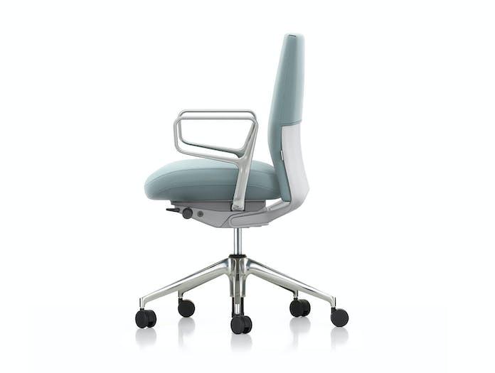 Vitra Id Soft Office Chair Side Antonio Citterio