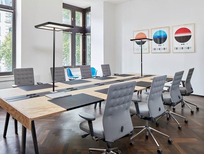 Vitra Id Trim Office Chairs Grey Antonio Citterio