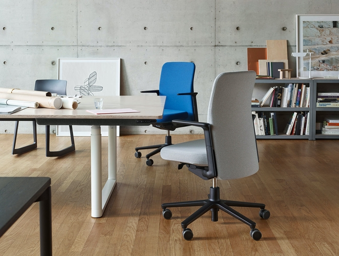 Vitra Pacific Chair Office Edward Barber Jay Osgerby