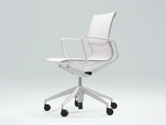 Vitra Physix Office Chair White Alberto Meda