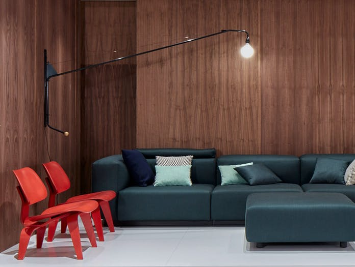 Vitra Potence Wall Light Sofa Jean Prouve