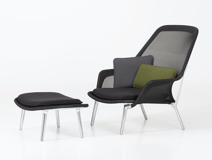 Vitra Slow Chair Black Ronan Erwan Bouroullec