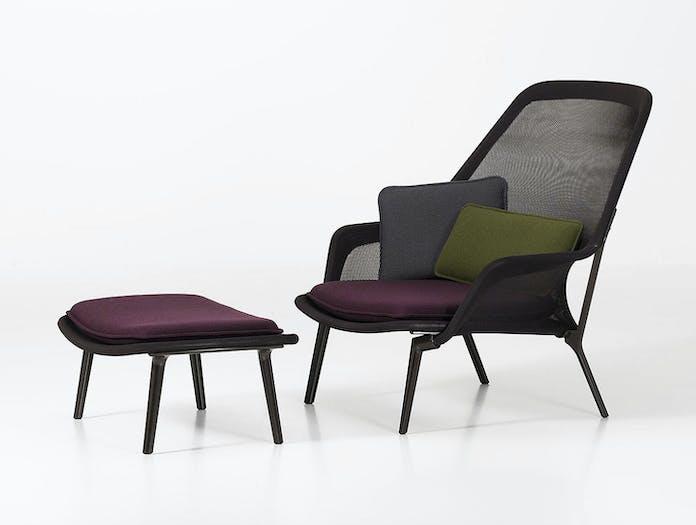 Vitra Slow Chair Brown Ronan Erwan Bouroullec
