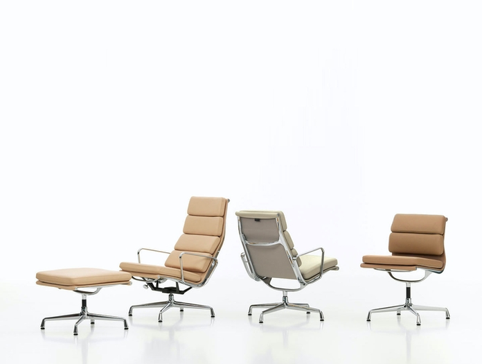 Vitra Soft Pad Group Chairs Charles And Ray Eames