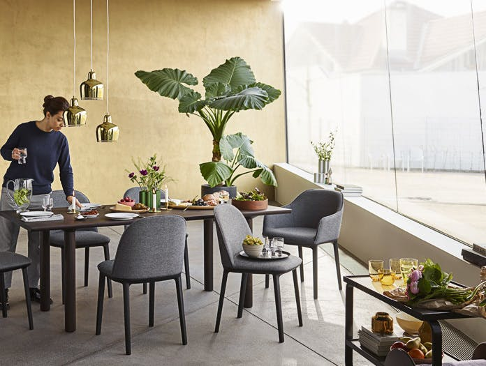 Vitra Softshell Chair Back Ronan And Erwan Bouroullec
