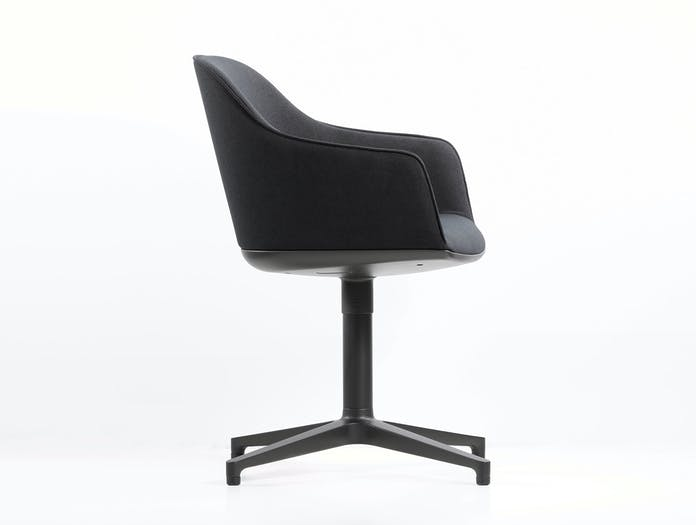 Vitra Softshell Office Chair 4 Star Base Side Ronan And Erwan Bouroullec