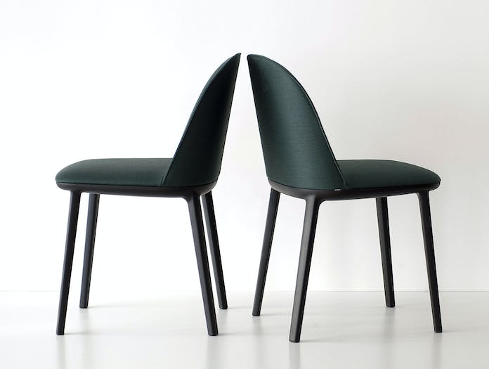 Vitra Softshell Side Chairs Ronan And Erwan Bouroullec