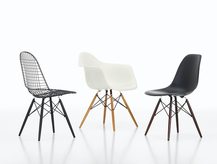 Vitra Wire Chair Eames Plastic Armchair Eames Plastic Side Chair
