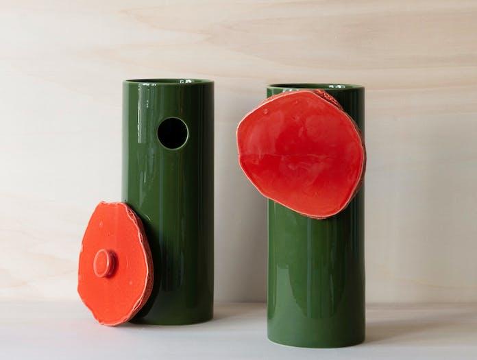 Vitra bouroullec vases decoupage disque 2