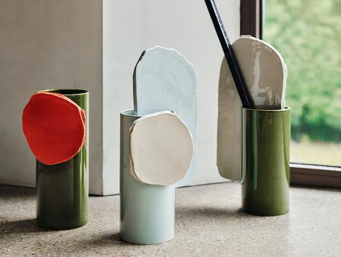 Vitra bouroullec vases decoupage disque