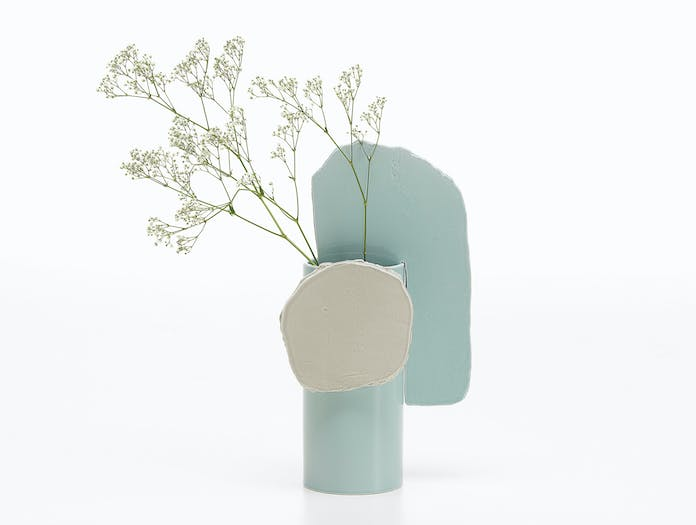 Vitra bouroullec vases decoupage feuille