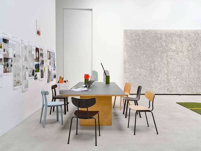 Vitra moca chair lifestyle image