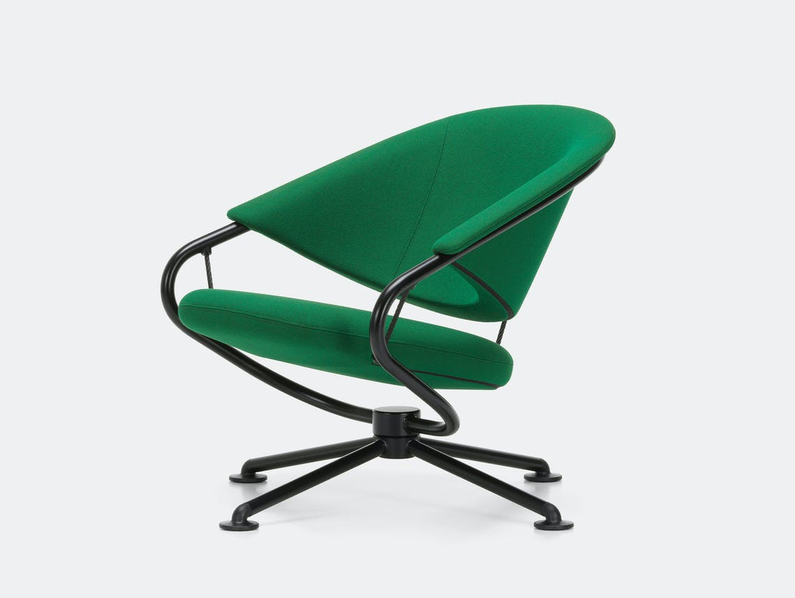 Vitra citizen lowback chair green credo 22 1