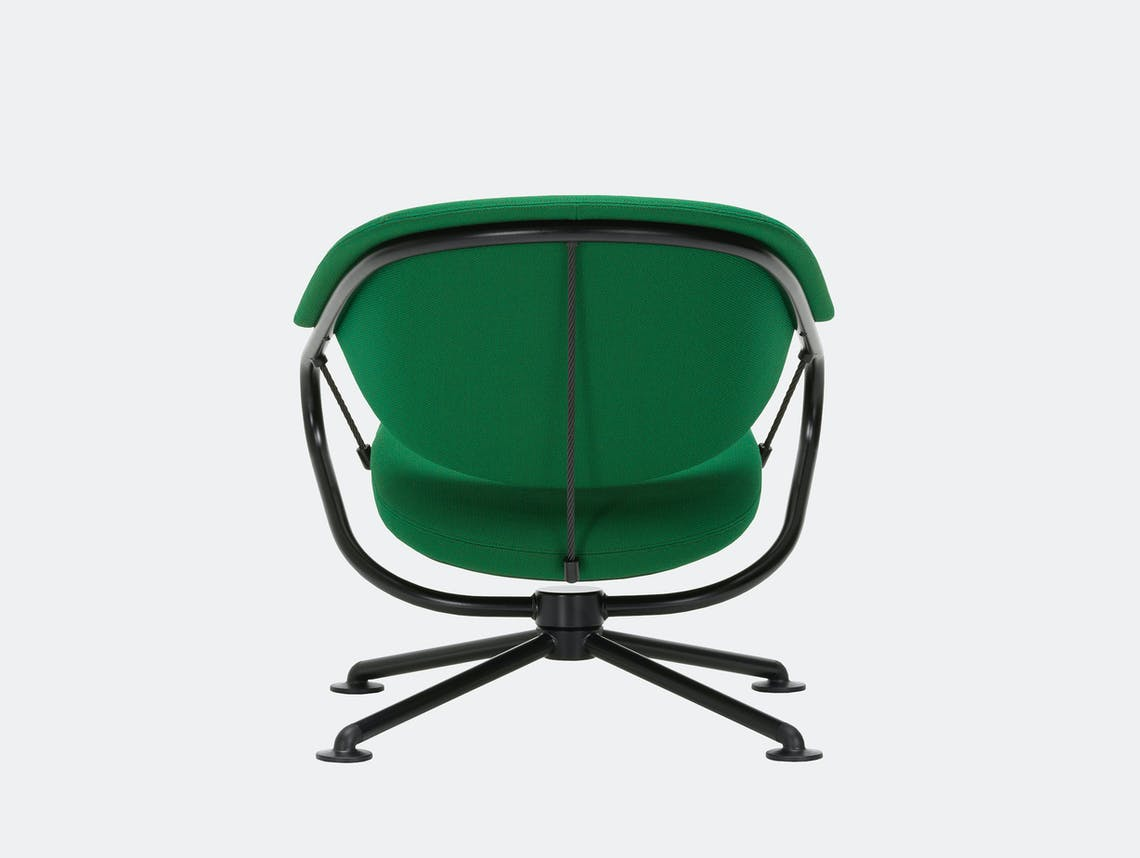 Vitra citizen lowback chair green credo 22 2