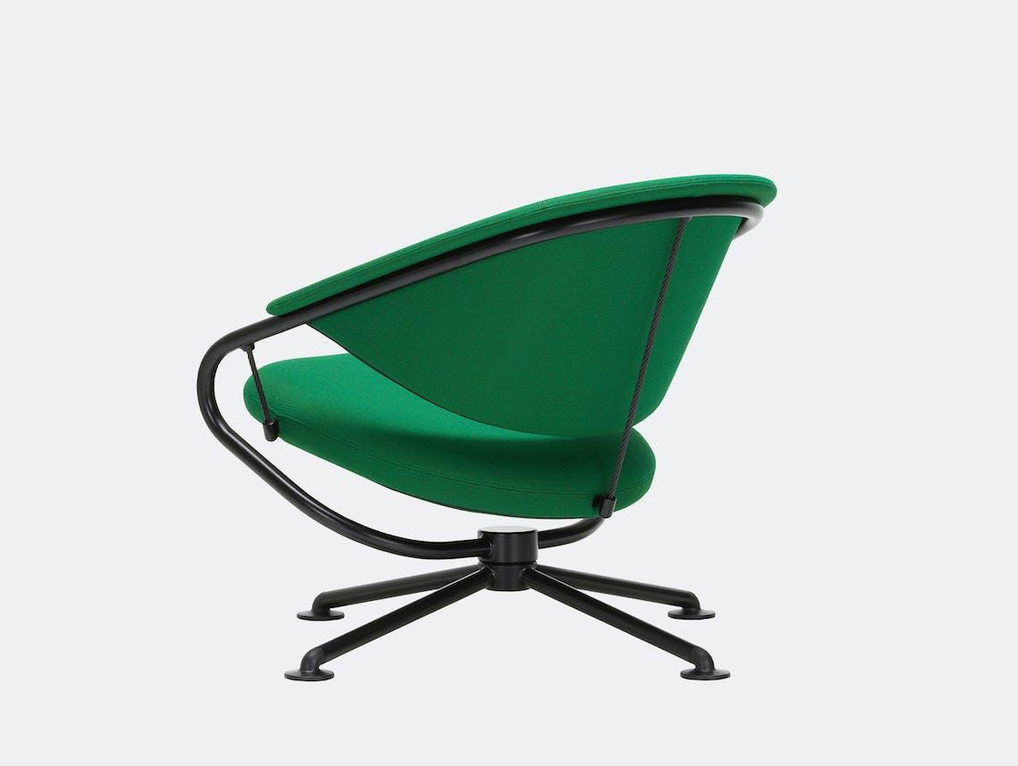 Vitra citizen lowback chair green credo 22 3