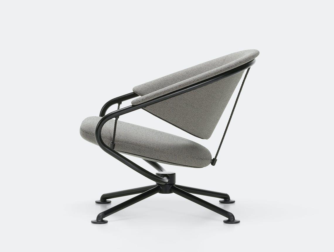 Vitra citizen lowback chair grey credo 25 2