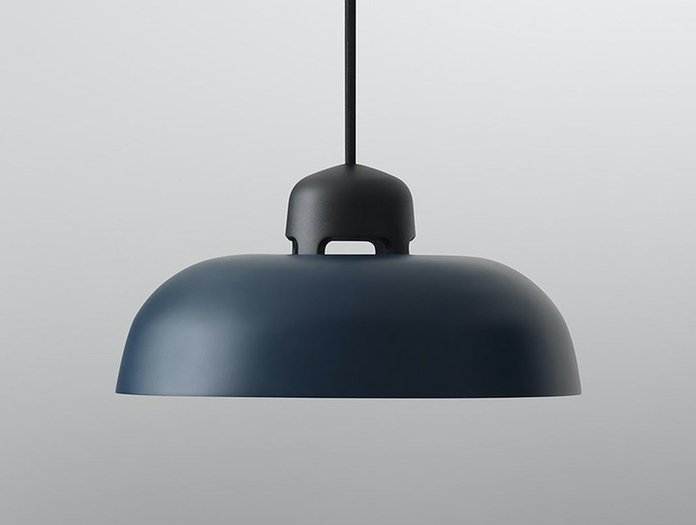Wastberg  W162  Dalston  Pendant  Light Black Blue  Sam  Hecht  Kim  Colin