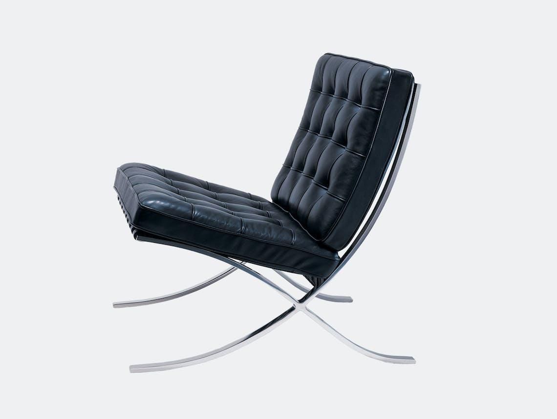 Knoll Barcelona Chair Black