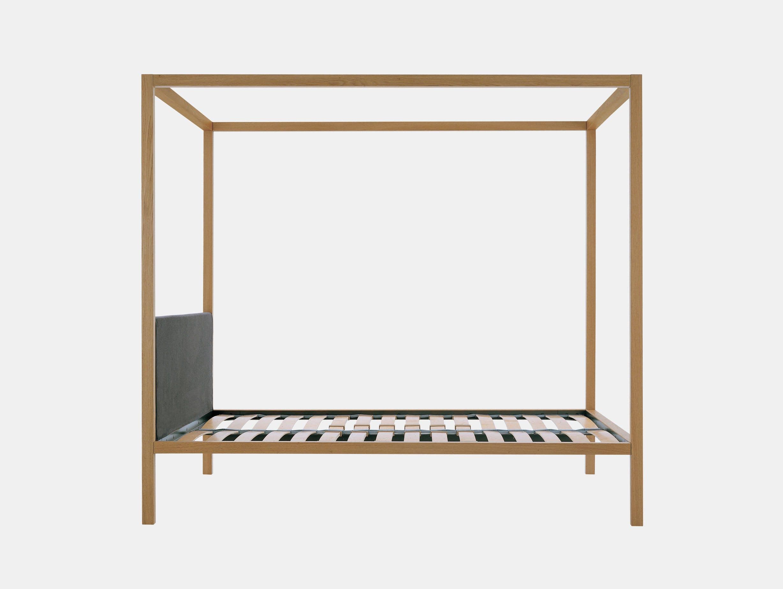 Zanotta Milleunanotte Bed Oak Emaf Progetti
