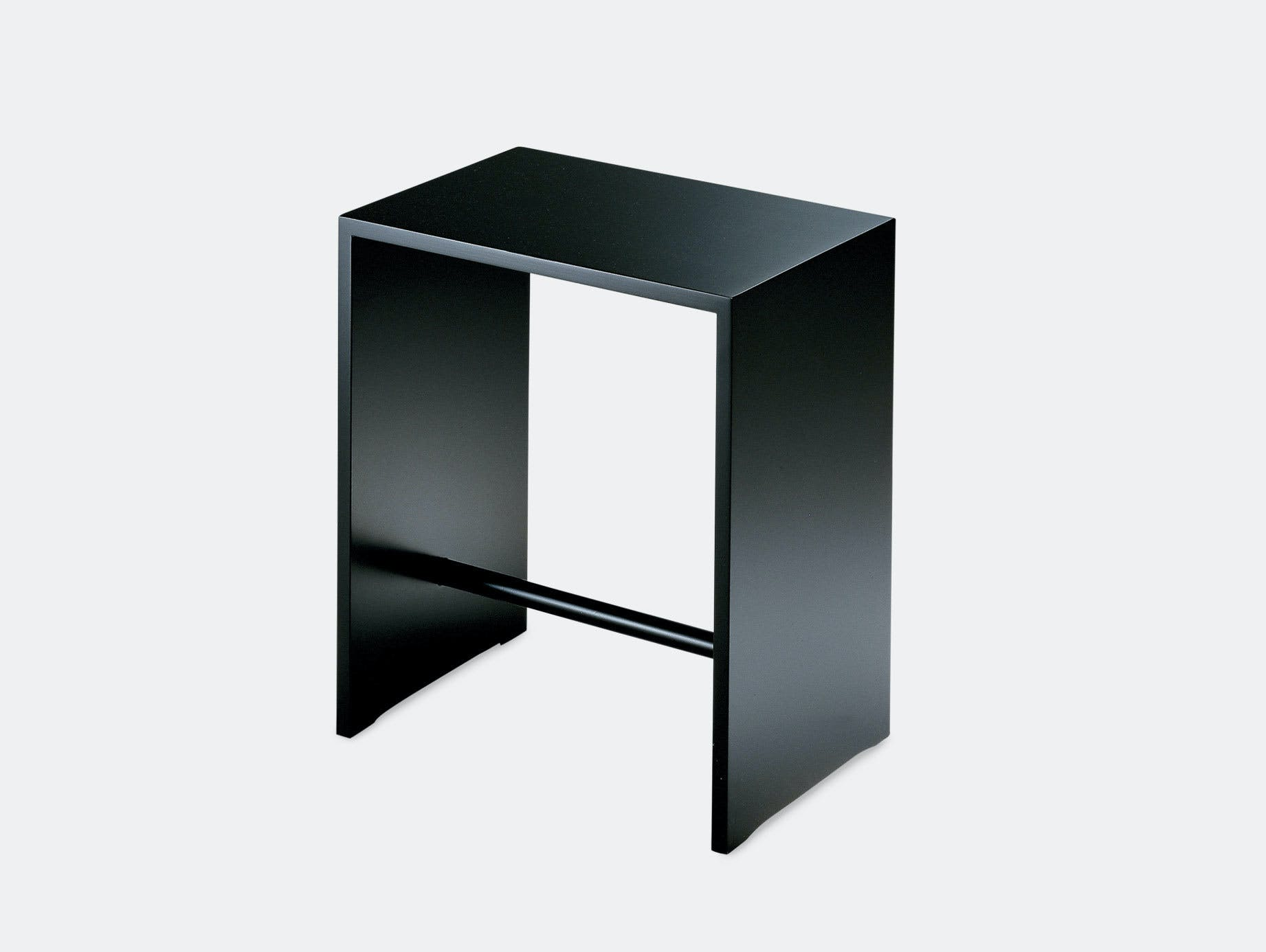 Zanotta Sgabillo Stool Black Max Bill