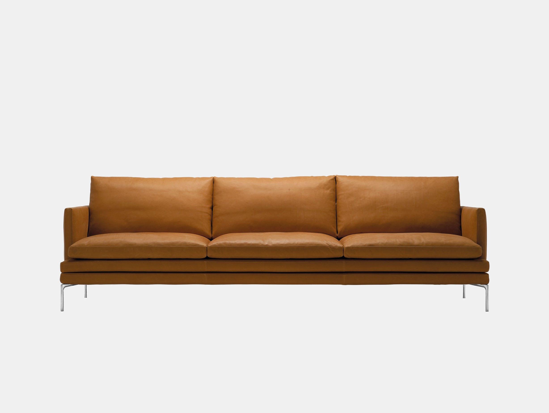Zanotta William Three Seater Sofa L 266Cm Damian Williamson