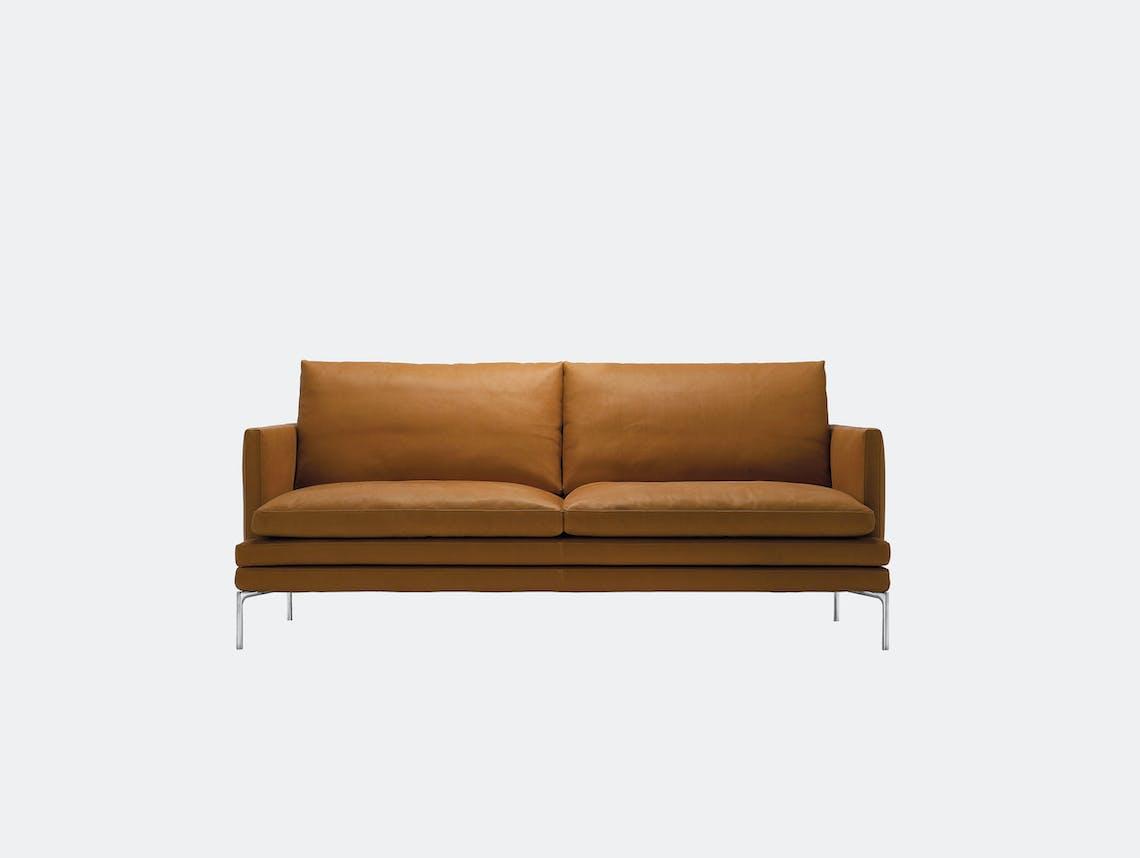 Zanotta William Two Seater Sofa L 180Cm Damian Williamson