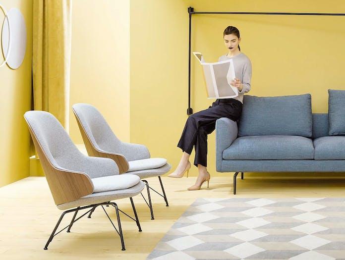 Zanotta Judy Chair Walnut Teolo Styled