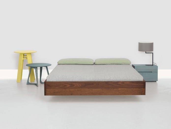 Zeitraum Simple Bed Walnut 2 Formstelle