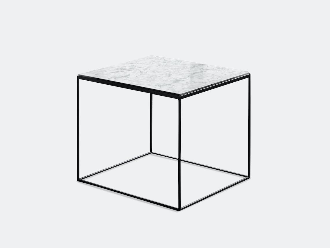 Zeus Slim Marble Table Square Maurizio Peregalli