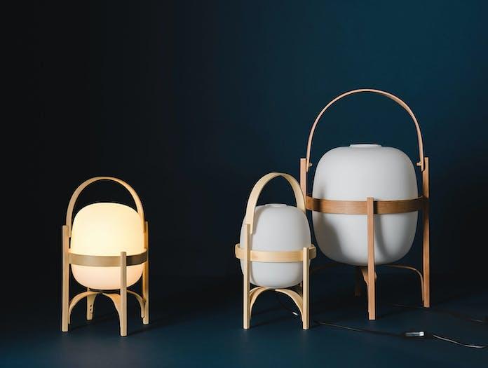Santa Cole Cestita Lamp Variants