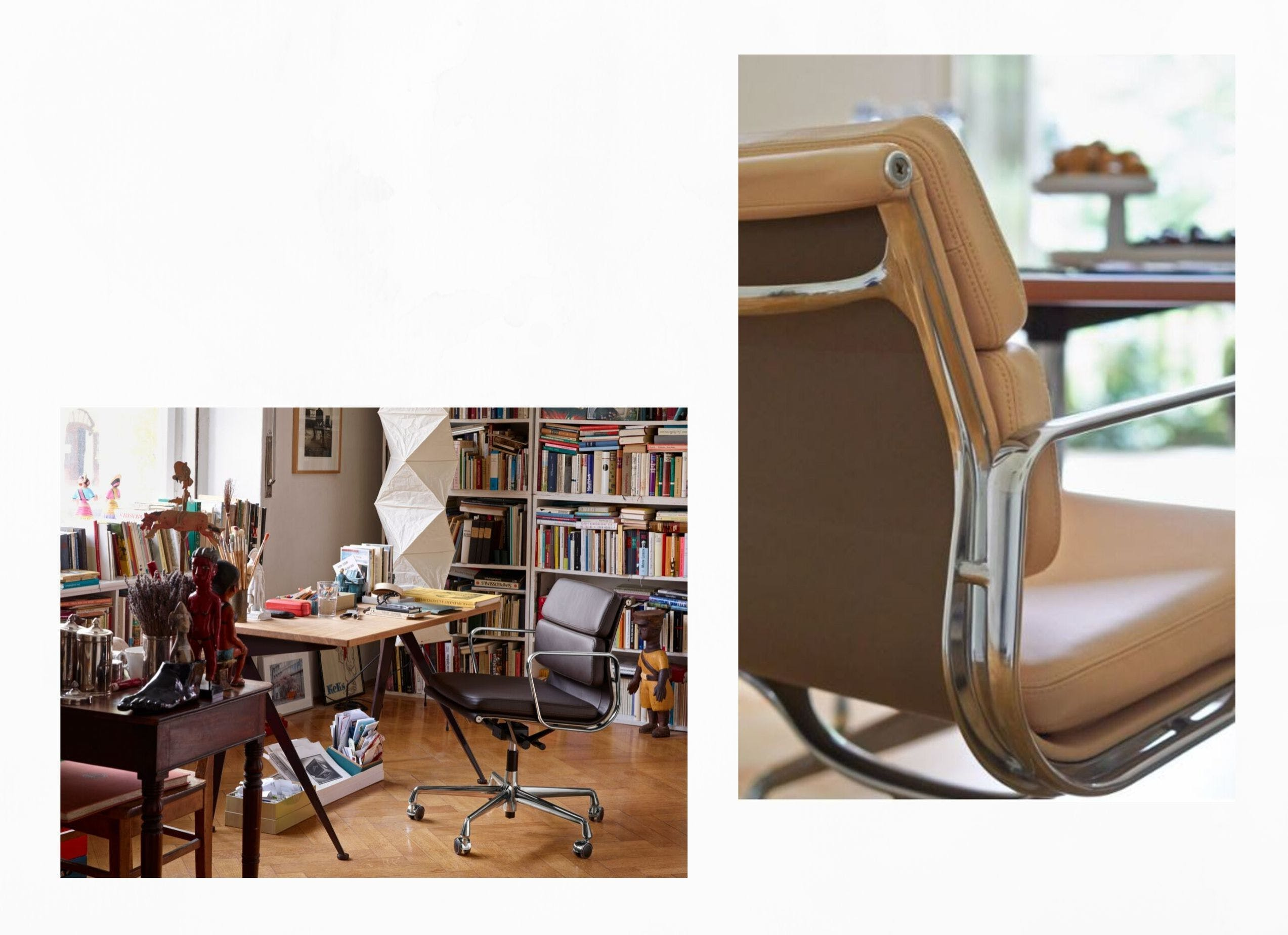 Eames soft pad chair 3 image