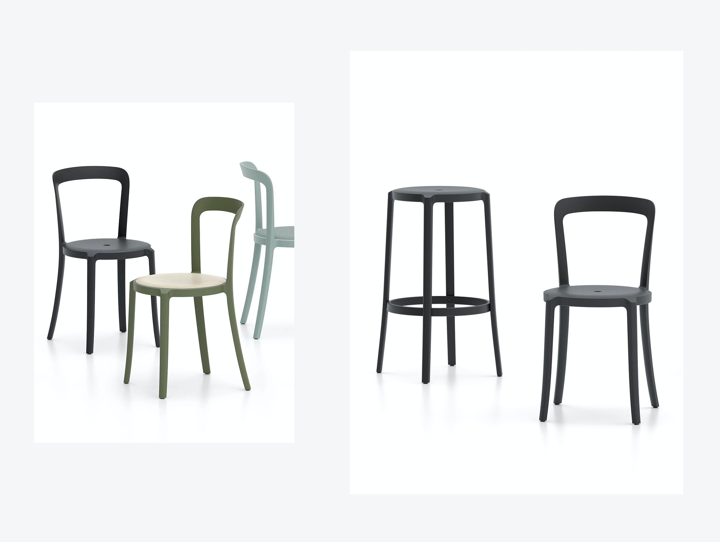 Emeco On And On Chair Stool Barber Osgerby image