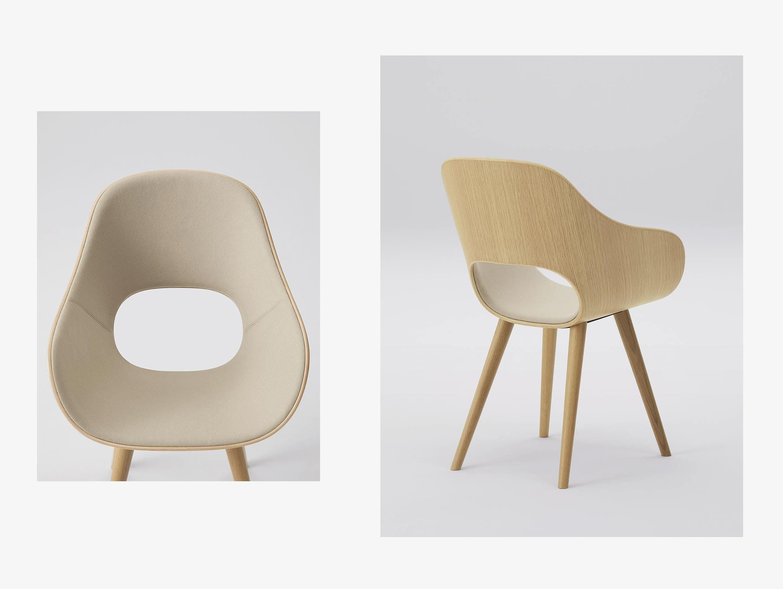 Maruni Roundish Chair Upholstered image