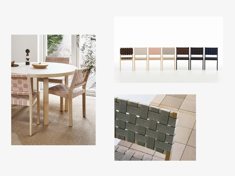 Artek 611 Chair New Webbing image
