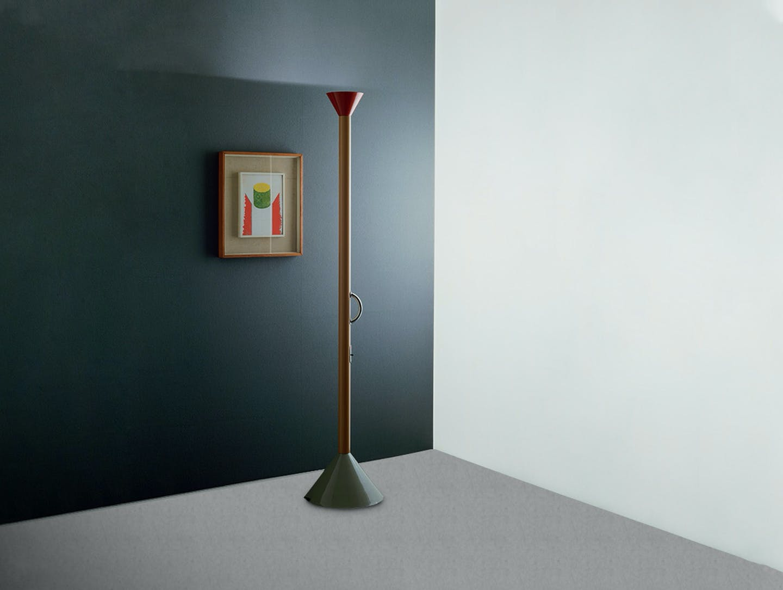 Artemide Ettore Sottsass Callimaco Floor Lamp image