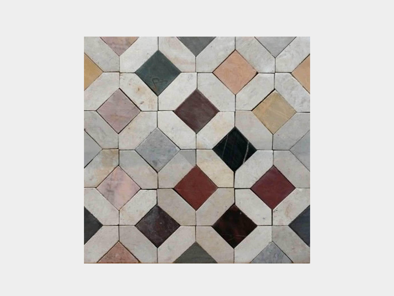 Tunisian mosaic tiles image