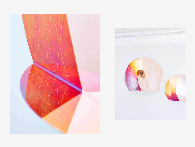 Studio Besau Marguerre Iridescent Mirror image