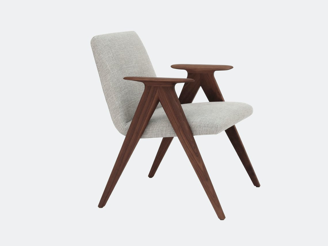 Stua Libera Lounge Chair Grey Walnut
