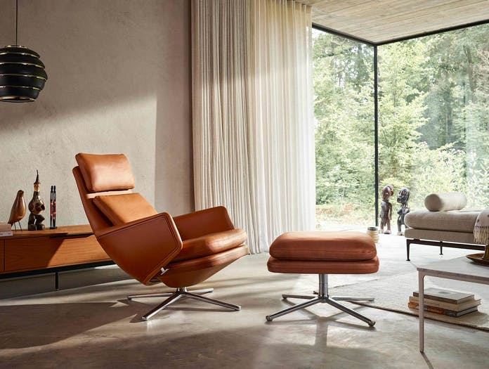 Vitra grand relax lounge chair 7